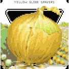 Antique Onion Seed Packet Pattern Chart Graph