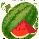 Antique Watermelon Seed Packet Pattern Chart Graph