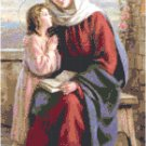 St. Anne with Mary Cross Stitch Pattern Chart Graph