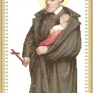 Saint Vincent de Paul Cross Stitch Pattern Chart Graph