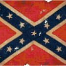 Civil War Confederate Battle Flag Cross Stitch Pattern Chart Graph