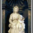 The Bruges Madonna and Child Cross Stitch Pattern Chart Graph