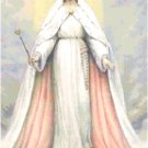 Queen of Heaven Cross Stitch Pattern Chart Graph