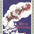 Night Before Christmas Cross Stitch Pattern Chart Graph