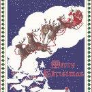 Night Before Christmas Cross Stitch Pattern Chart Graph