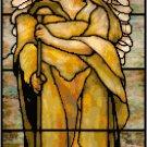 Angel of the Resurrection Cross Stitch Pattern Chart Graph