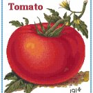 Country Tomato Cross Stitch Pattern Chart Graph