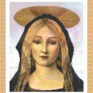 Mary Mild, Hear Us As We Pray Cross Stitch Pattern Chart Graph