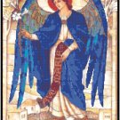 St. Gabriel the Archangel Cross Stitch Pattern Chart Graph