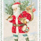 Snow Is Falling Cross Stitch Pattern Chart Graph