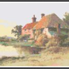 Mac's Pond Cottage Cross Stitch Pattern Chart Graph