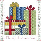 Christmas Presents Cross Stitch Pattern Chart Graph
