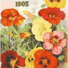 Vintage Seed Catalog 1905 Magazine Cover Cross Stitch Pattern Chart Graph