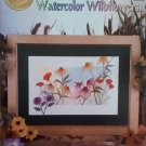 Watercolor Wildflowers Cross Stitch Booklet