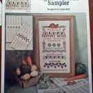 Vegetable Patch Sampler Cross Stitch Leaflet