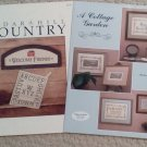 A Cottage Garden and Cedar Hill Country Cross Stitch Leaflets (2)