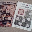Country Kitchen and Rosebud Hearts Cross Stitch Booklet and Leaflet (2)