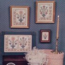 Colonial Flowers I Cross Stitch Pattern Booklet