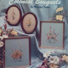 Colonial Bouquets Cross Stitch Pattern Booklet