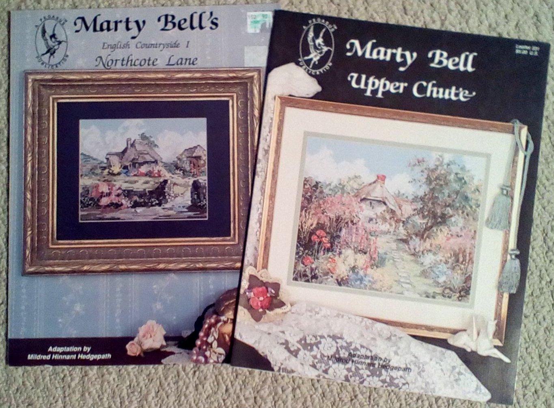 Northcote Land and Upper Chute Cross Stitch Pattern Set of 2 Booklets