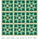 Nine Patch Star Quilt Pattern Chart Graph