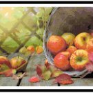 Autumn Apple Harvest Pattern Chart Graph