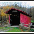 West Virginia Covered Bridge Pattern Chart Graph