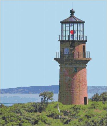 Gay Head Lighthouse, MA Pattern Chart Graph