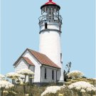 Cape Blanco Lighthouse, OR Pattern Chart Graph