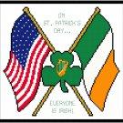 On St. Patrick's Day Pattern Chart Graph