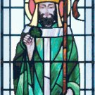 St. Patrick in Stained Glass Pattern Chart Graph