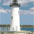 Portsmouth Harbor Lighthouse, NH Pattern Chart Graph