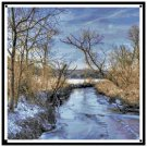 Icy Mill Creek in Ridgeway, WI Pattern Chart Graph