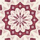 Persian Pillow Top Cross St./Needlepoint Pattern Chart Graph