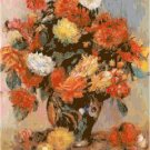 A Vase of Flowers by Renoir Pattern Chart Graph
