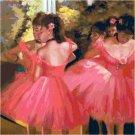 Dancers in Pink (detail) by Edgar Degas
