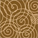 Swingin' Circles Seat or Pillow Top X-Stitch or Needlepoint pattern chart graph
