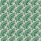 Fern Fantasy Seat or Pillow Top X-Stitch or Needlepoint pattern chart graph