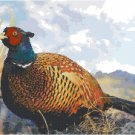 Pheasant by the Reeds Pattern Chart Graph
