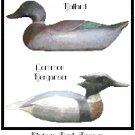 Vintage Duck Decoys - Set 2 Pattern Chart Graph