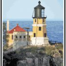 Split Rock Lighthouse, MN 2 Pattern Chart Graph