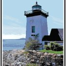 Grindel Point Lighthouse, ME Pattern Chart Graph