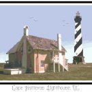 Cape Hatteras Lighthouse, NC Pattern Chart Graph