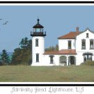 Admiralty Head Lighthouse, WA Pattern Chart Graph