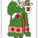OLD TIME SANTA 1 quick and easy pattern chart graph