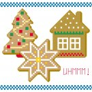 Yummy Christmas Cookies quick and easy Pattern Chart Graph