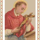 St. Charles Borromeo Cross Stitch Pattern Chart Graph