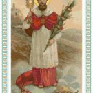St. Raymond Nonnatus Cross Stitch Pattern Chart Graph