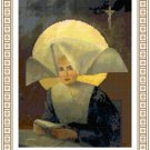 St. Catherine Laboure Cross Stitch Pattern Chart Grapy