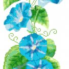 Summer Morning Glory Cross Stitch Pattern Chart Graph